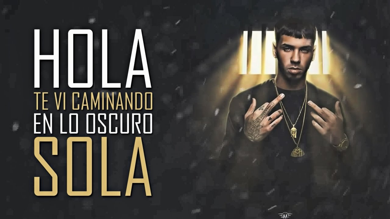 Sola — Anuel AA (Official Video Lyric)