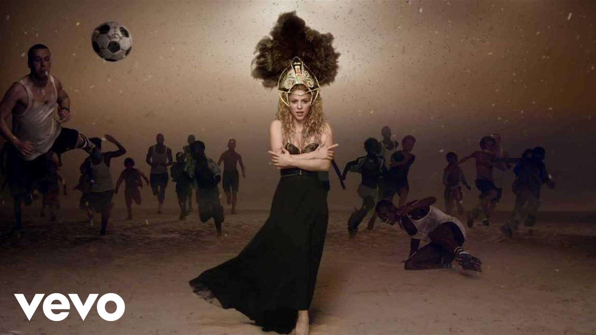 Shakira — La La La (Brazil 2014) ft. Carlinhos Brown
