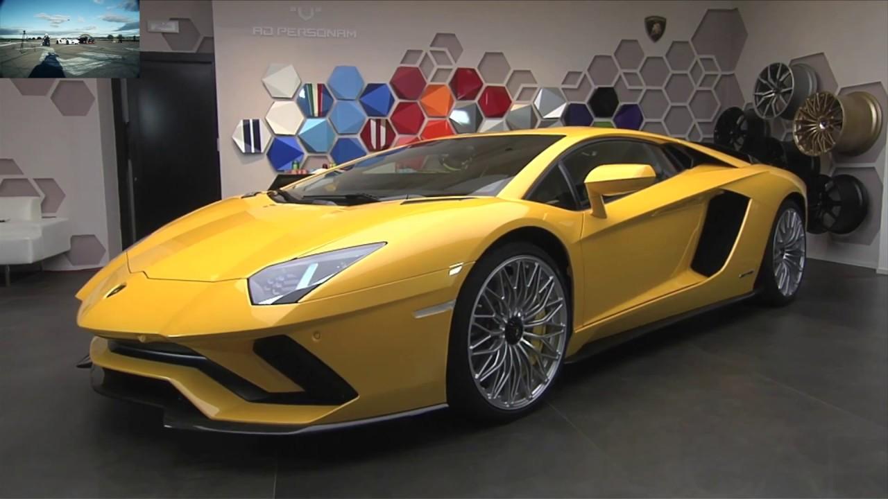 740 HP Lamborghini Aventador S Coupé Ad Personam official video from Lamborghini