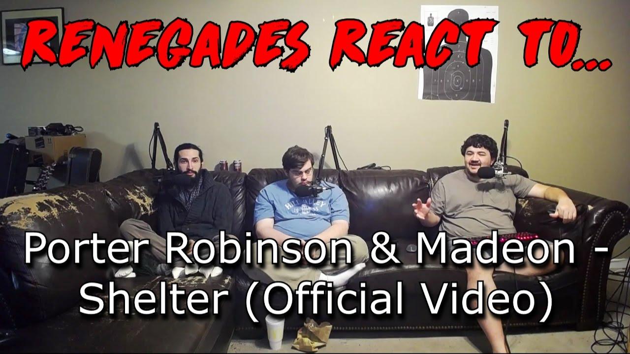 Renegades React to… Porter Robinson & Madeon — Shelter (Official Video)