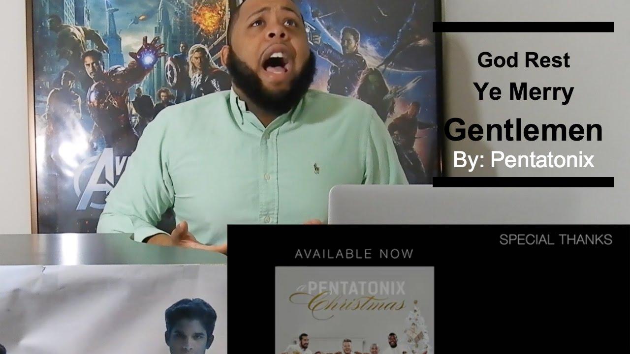 Official video! Pentatonix God Rest Ye Merry Gentlemen Reaction!!
