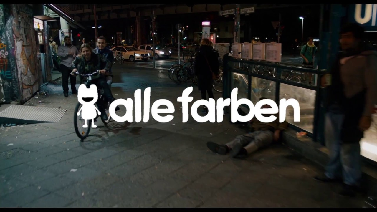 Alle Farben — Berlin (Official Video)