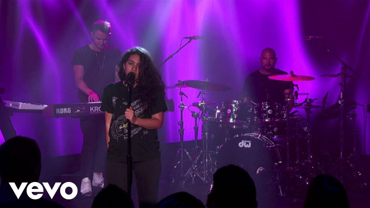 Alessia Cara — Scars To Your Beautiful (Live From Jimmy Kimmel Live!)