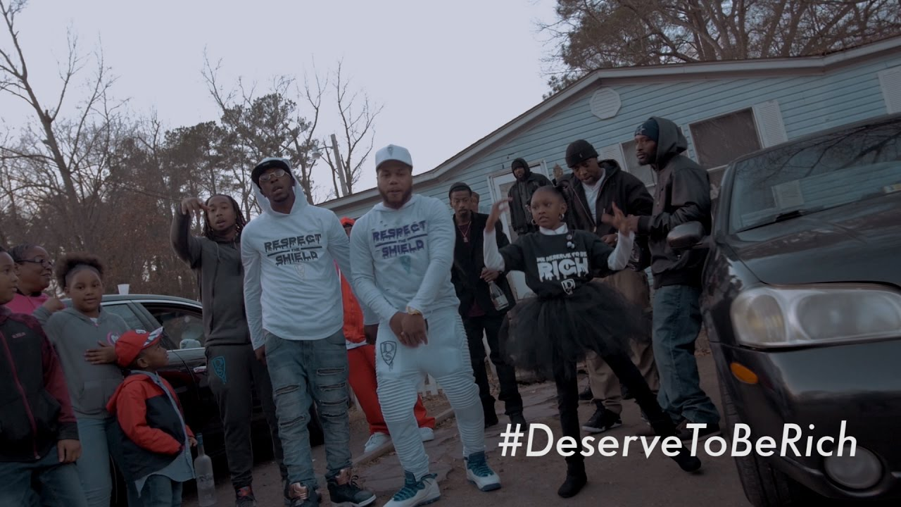 Drama Squad — Deserve To Be Rich [OFFICIAL VIDEO]