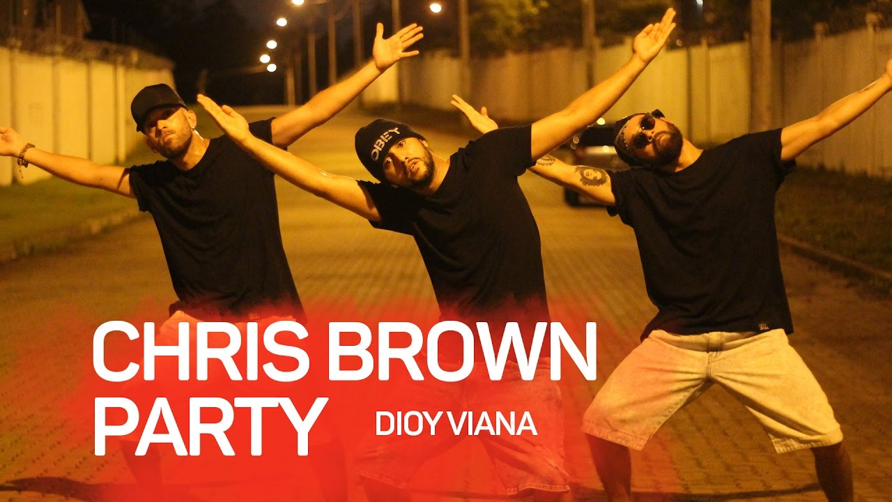 Chris Brown — Party (Official Video) ft. Gucci Mane, Usher #partychallenge — @dioyviana