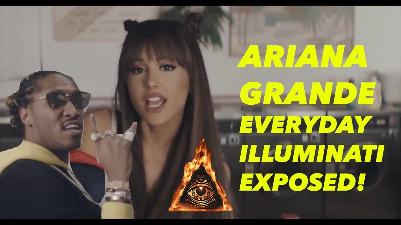 ARIANA GRANDE — EVERYDAY FT. FUTURE (OFFICIAL VIDEO) ILLUMINATI EXPOSED!