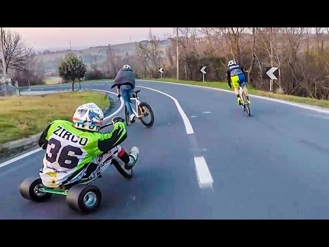 OFFICIAL VIDEO : Go drifting or stay home — fixed vs trike drift … — DAFNE FIXED