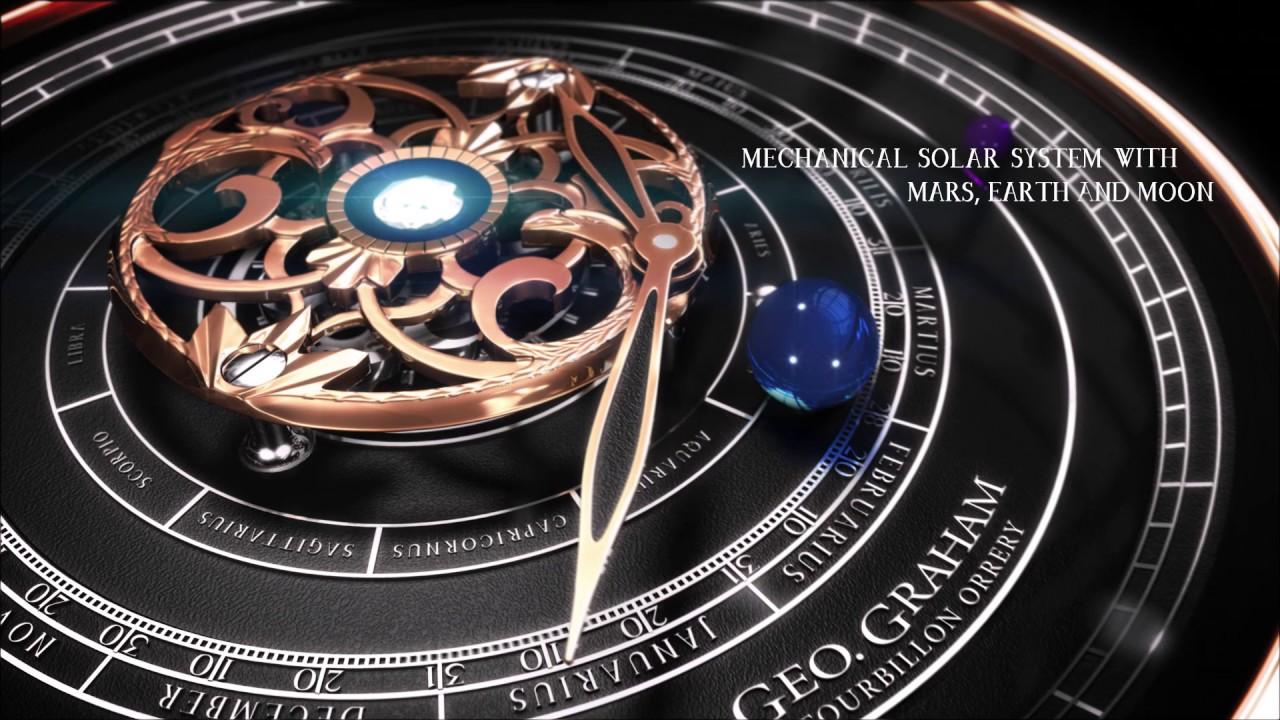 Graham Geo.Graham Tourbillon Orrery Astronomical Watch Official Video | aBlogtoWatch