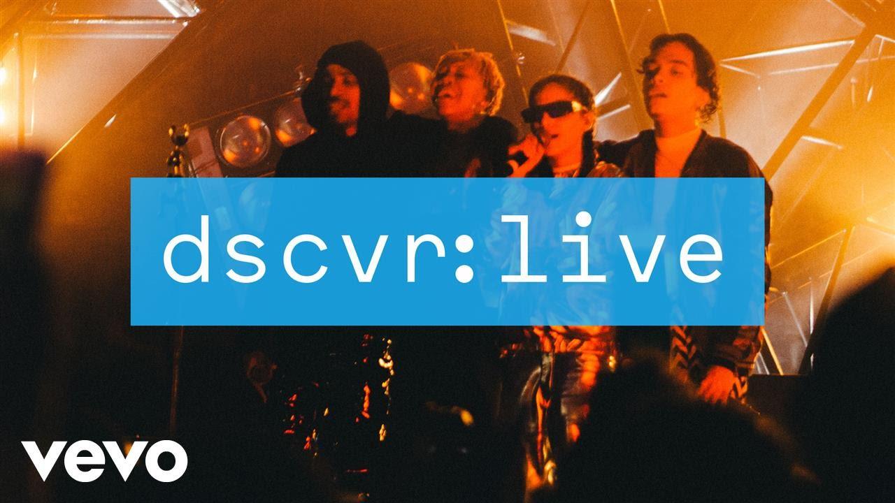 Jorja Smith — Something in the Way (dscvr Live)