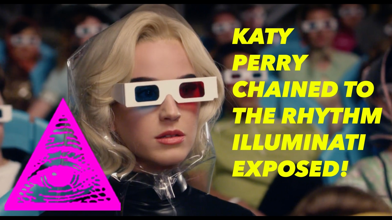 KATY PERRY — CHAINED TO THE RHYTHM (OFFICIAL VIDEO) FT. SKIP MARLEY ILLUMINATI EXPOSED!