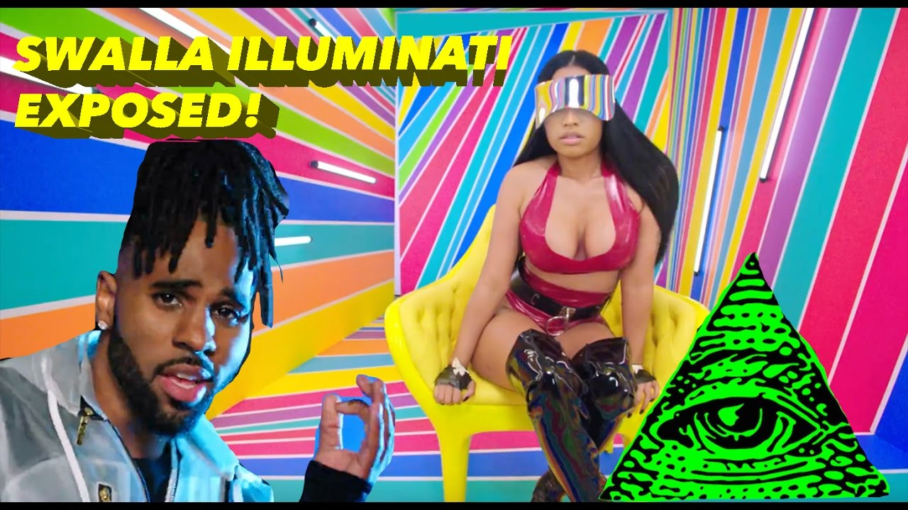 JASON DERULO FT. NICKI MINAJ — SWALLA (OFFICIAL VIDEO) ILLUMINATI EXPOSED!