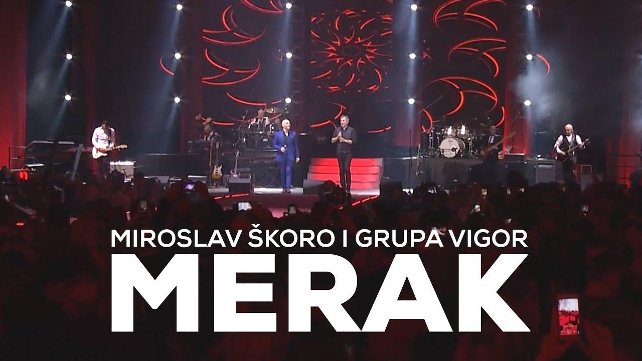 MIROSLAV ŠKORO I GRUPA VIGOR — MERAK (Official video)