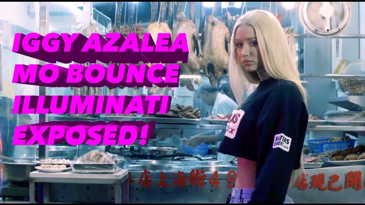 IGGY AZALEA — MO BOUNCE (OFFICIAL VIDEO) ILLUMINATI EXPOSED!