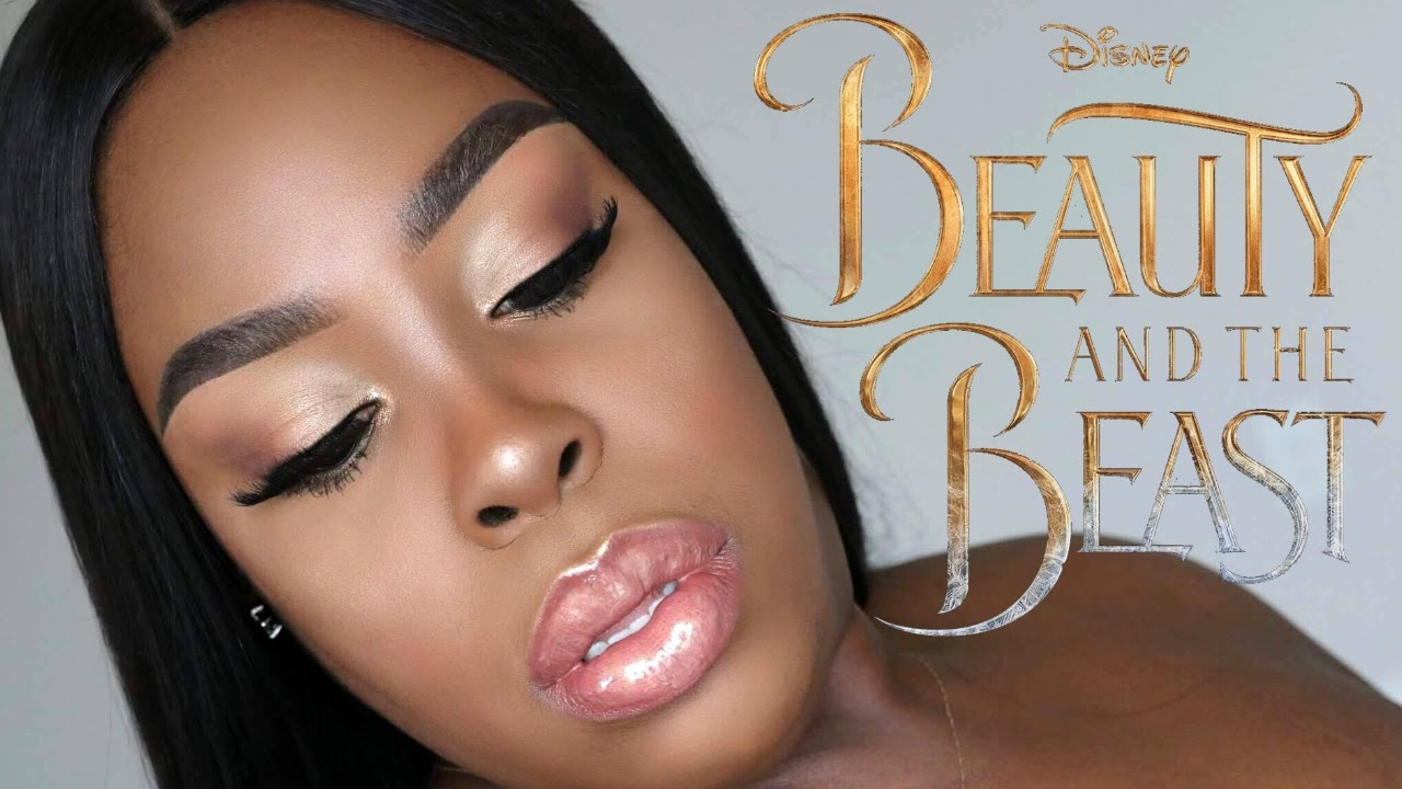 Beauty and the Beast (From «Beauty and the Beast»/Official Video) MAKEUP TUTORIAL 2017