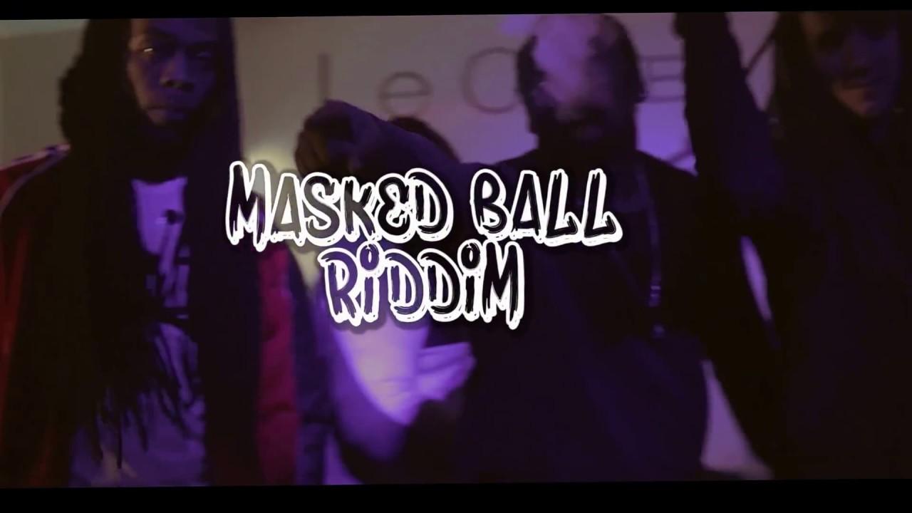 Dj Madness Feat Blaiz Fayah, Danta, Keyta (Official Video Medley n2) Masked Ball riddim [2017]