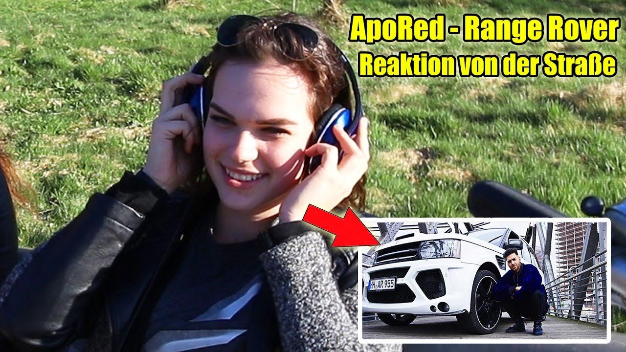 ApoRed — Range Rover Mansory (Official Video) | LIVE REAKTIONEN VON DER STRAßE