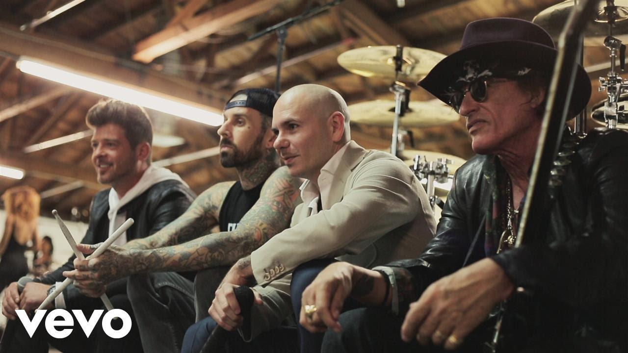 Pitbull — Bad Man (Official Video) ft. Robin Thicke, Joe Perry, Travis Barker