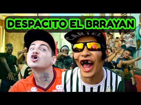 DESPACITO EL BRAYAN FT. JUSTIN BIEBER (OFFICIAL VIDEO ) || Videos Rangers.v || Facebook Instagram