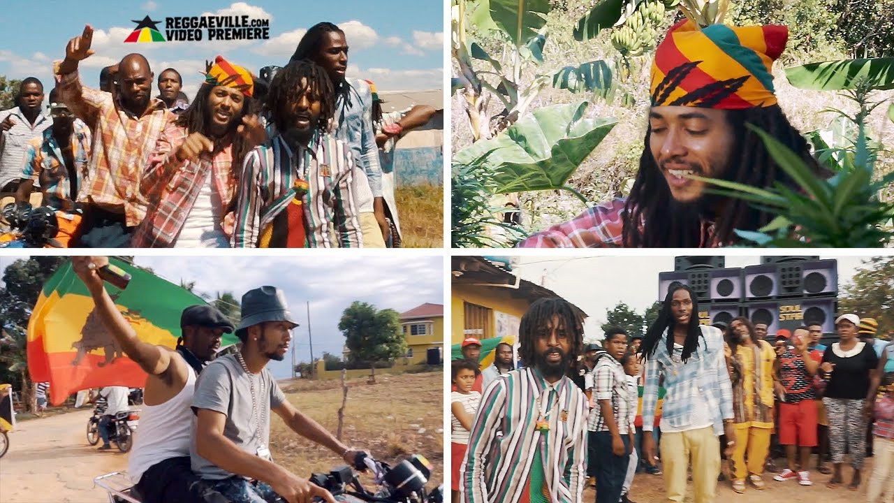 Skunga Kong feat. Natty Knox & Phenom — Roots Rocking [Official Video 2017]