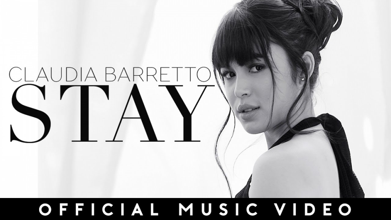 Claudia Barretto — STAY (Official Music Video)