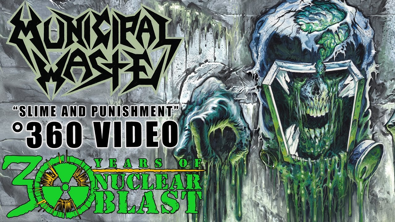 MUNICIPAL WASTE — Slime and Punishment (360 VISUALIZER OFFICIAL VIDEO)