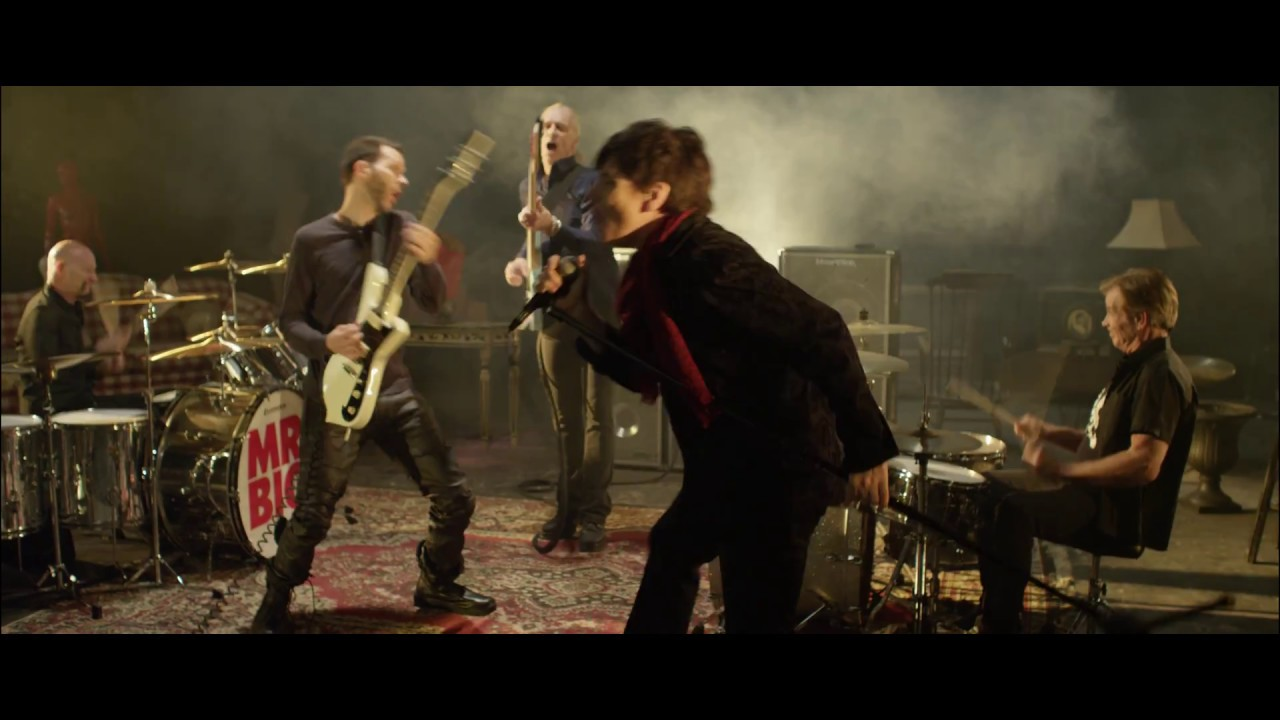 Mr. Big — «Everybody Needs a Little Trouble» (Official Music Video)