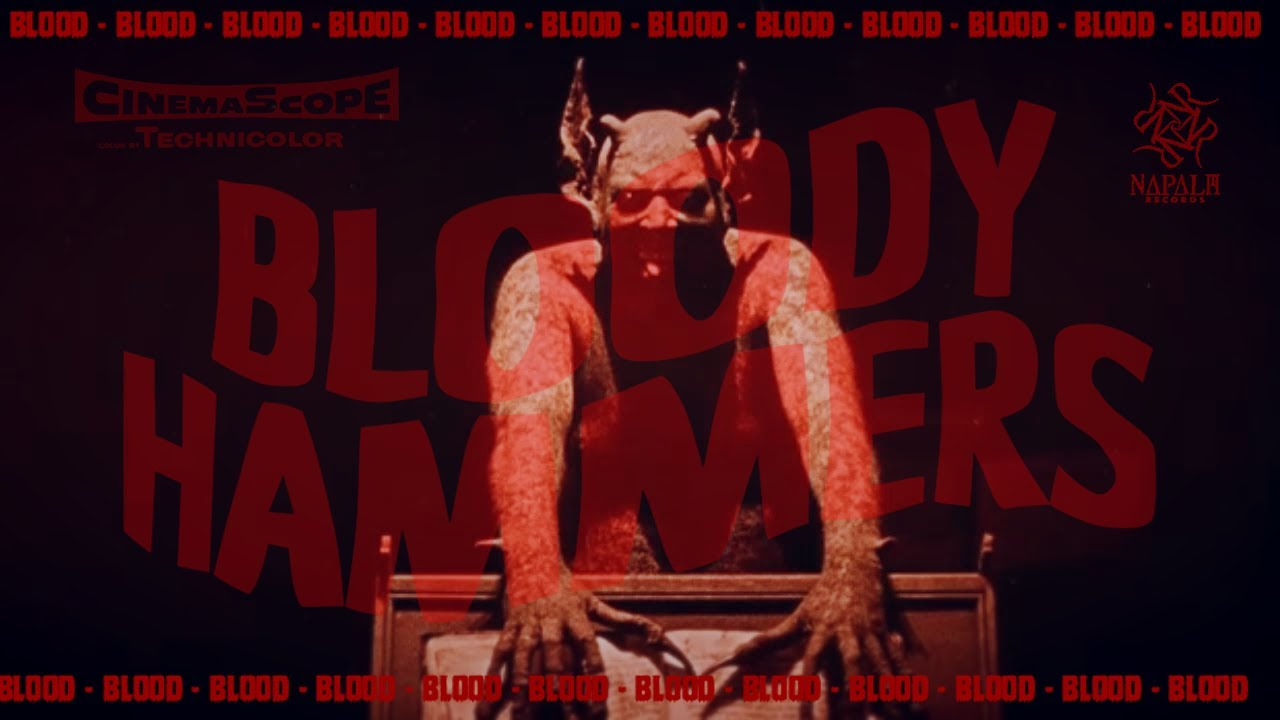 BLOODY HAMMERS — Blood (Official Video) | Napalm Records