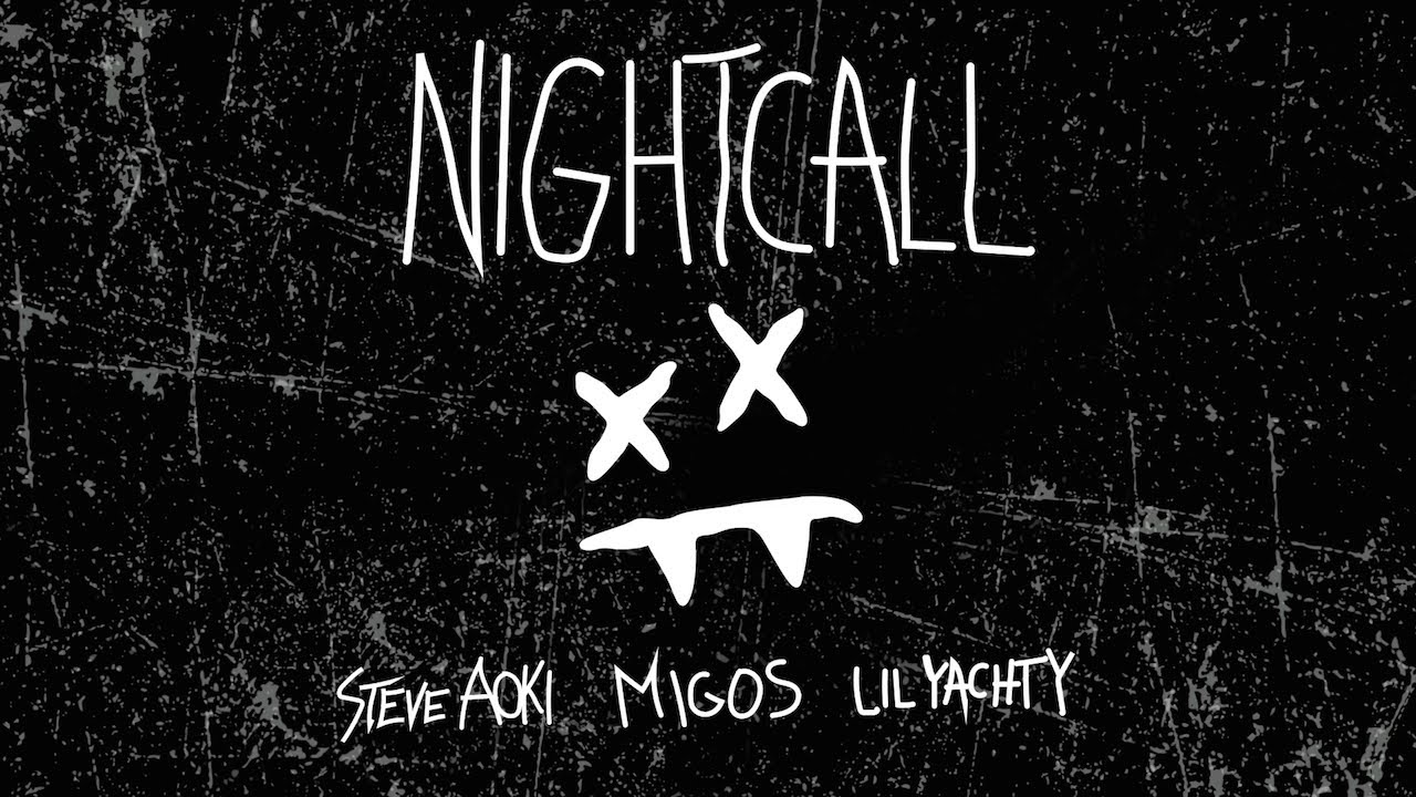 Steve Aoki — Night Call feat. Lil Yachty & Migos (Cover Art) [Ultra Music]