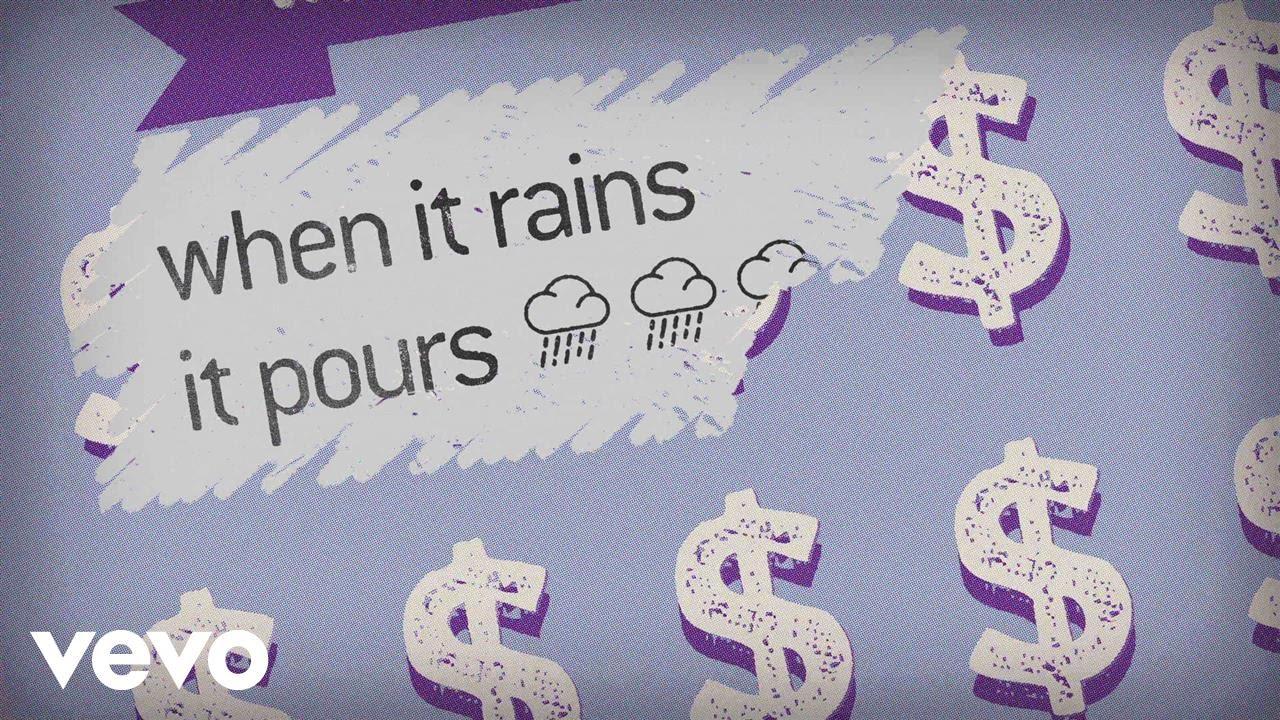 Luke Combs — When It Rains It Pours (Lyric Video)