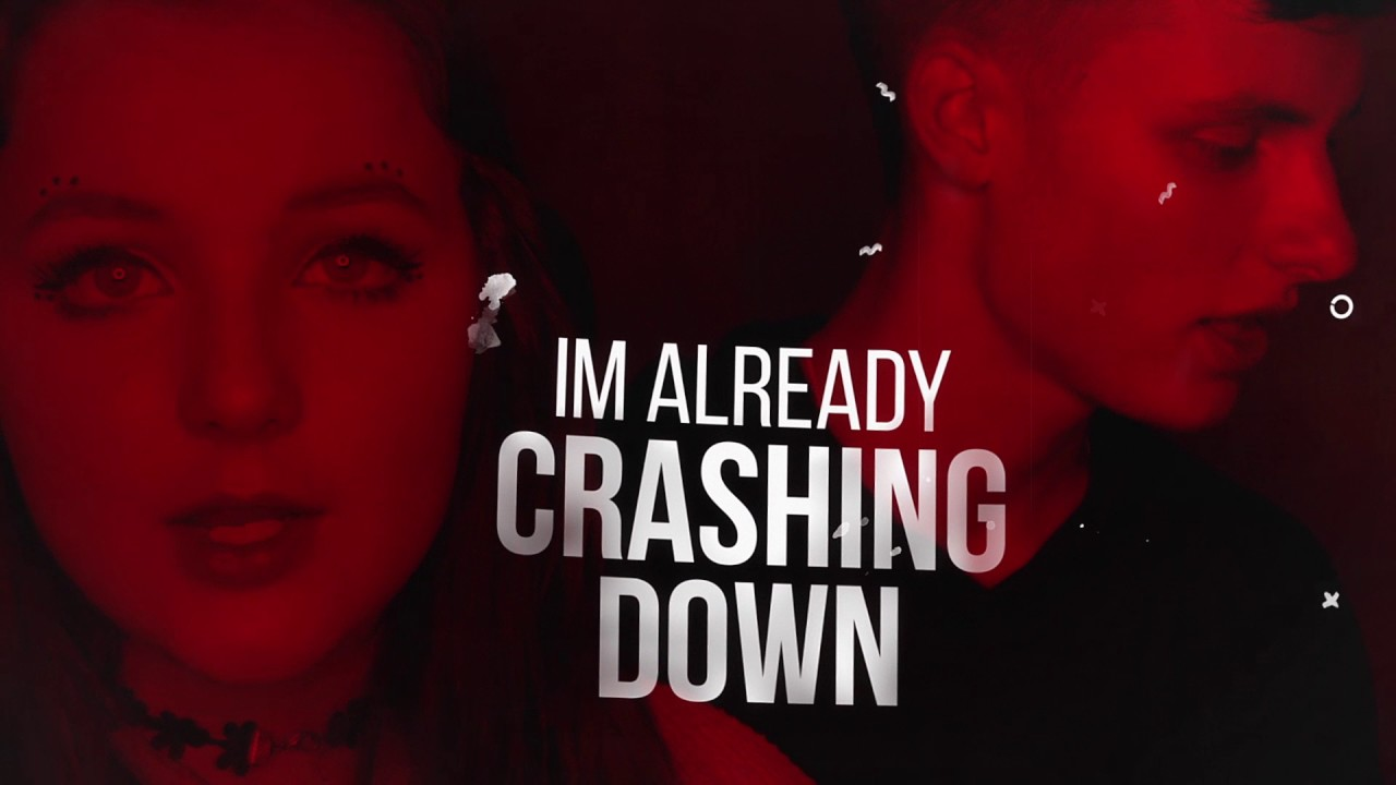 Chris Porter — Crashing Down feat. Alithea (Lyric Video) [Ultra Music]