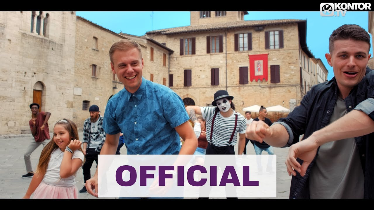 Armin van Buuren feat. Josh Cumbee — Sunny Days (Official Video HD)