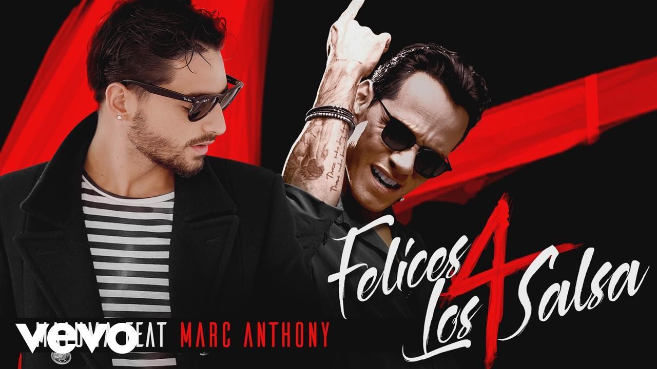 Maluma — Felices los 4 (Salsa Version)[Audio] ft. Marc Anthony