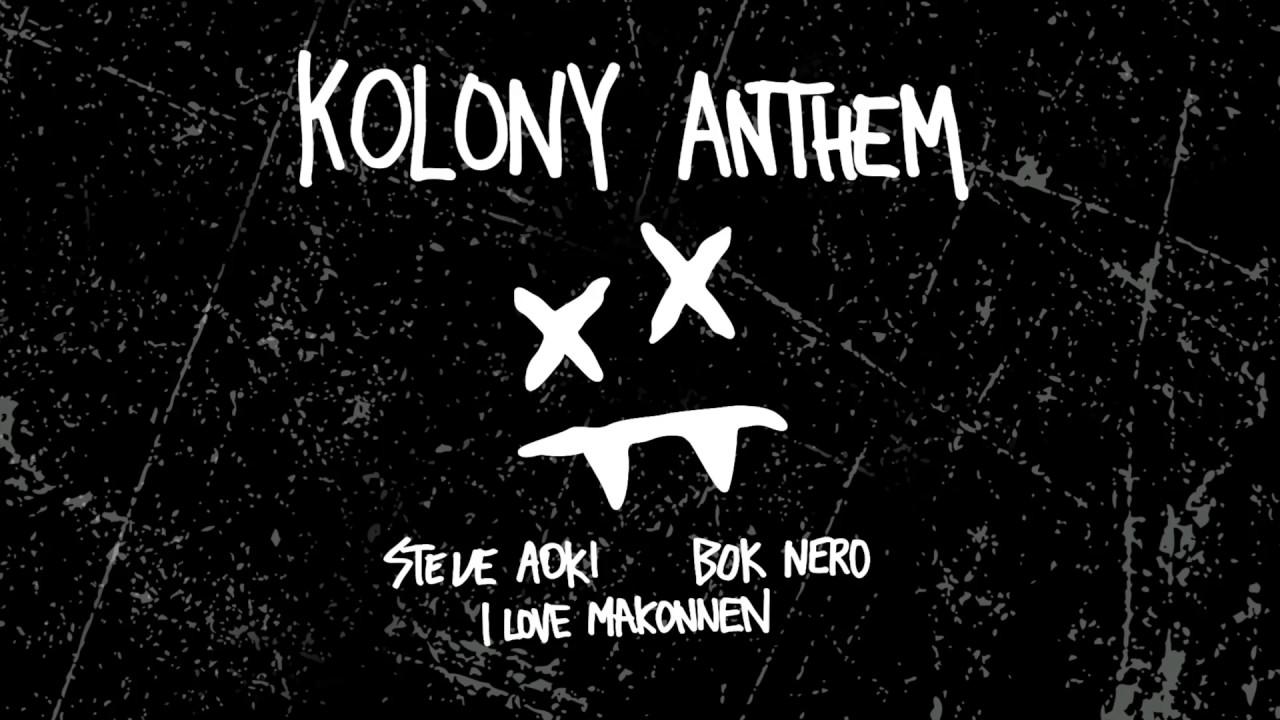 Steve Aoki — Kolony Anthem feat. iLoveMakonnen & Bok Nero (Cover Art) [Ultra Music]