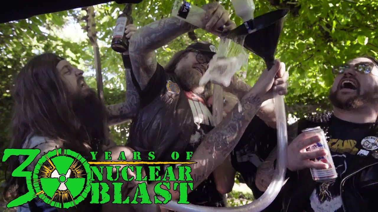 MUNICIPAL WASTE — Breathe Grease (OFFICIAL MUSIC VIDEO)