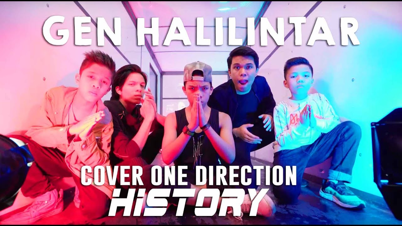 Halilintar Boyz — History ONE DIRECTION (Official Video Cover)