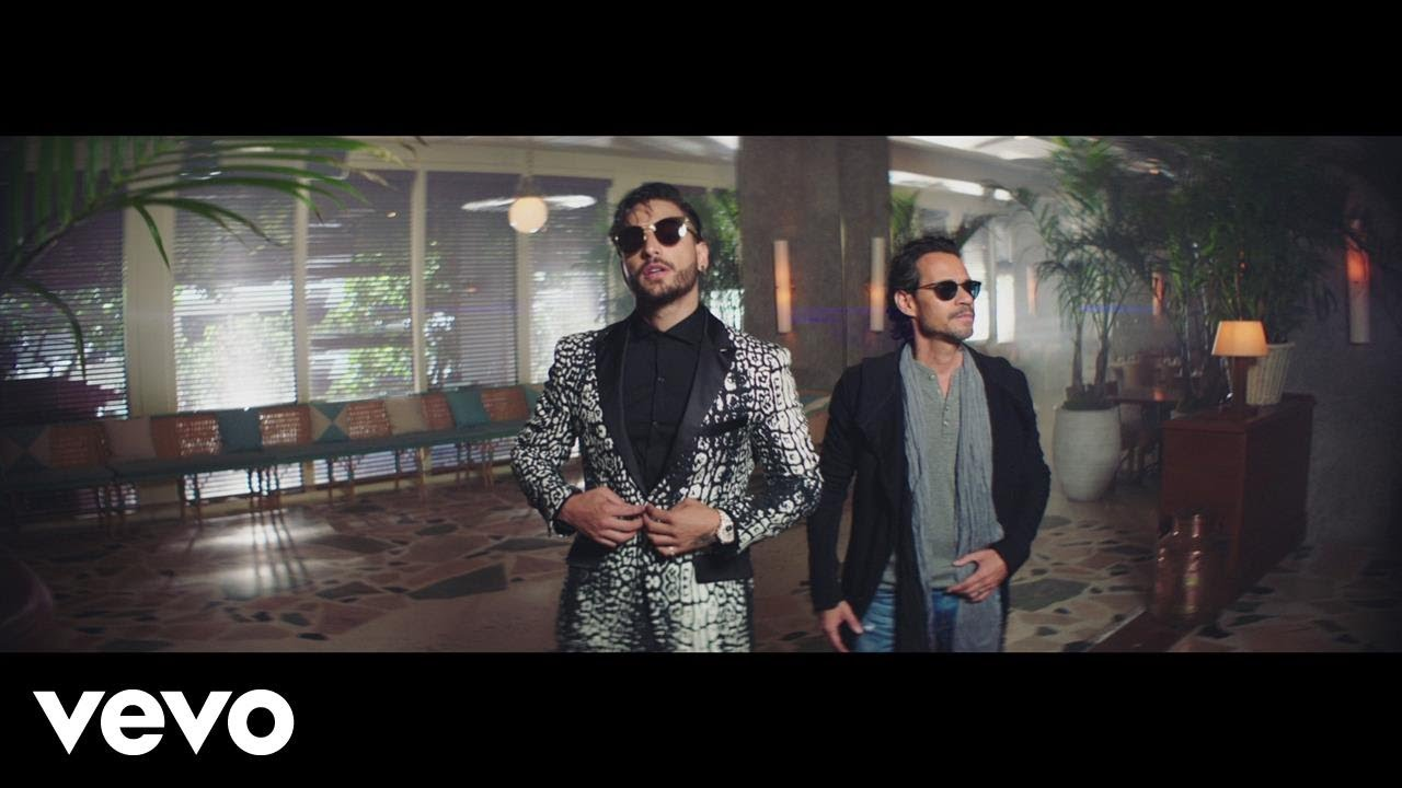 Maluma — Felices los 4 (Salsa Version)[Official Video] ft. Marc Anthony