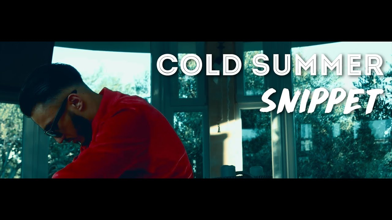 Seyed — Cold Summer Snippet (Official Video) | COLD SUMMER 18.08.2017 Bosshaft TV