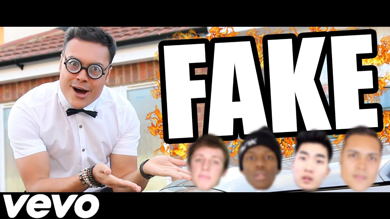 DISS TRACK — FAKE YOUTUBERS !!! (Official Music Video)