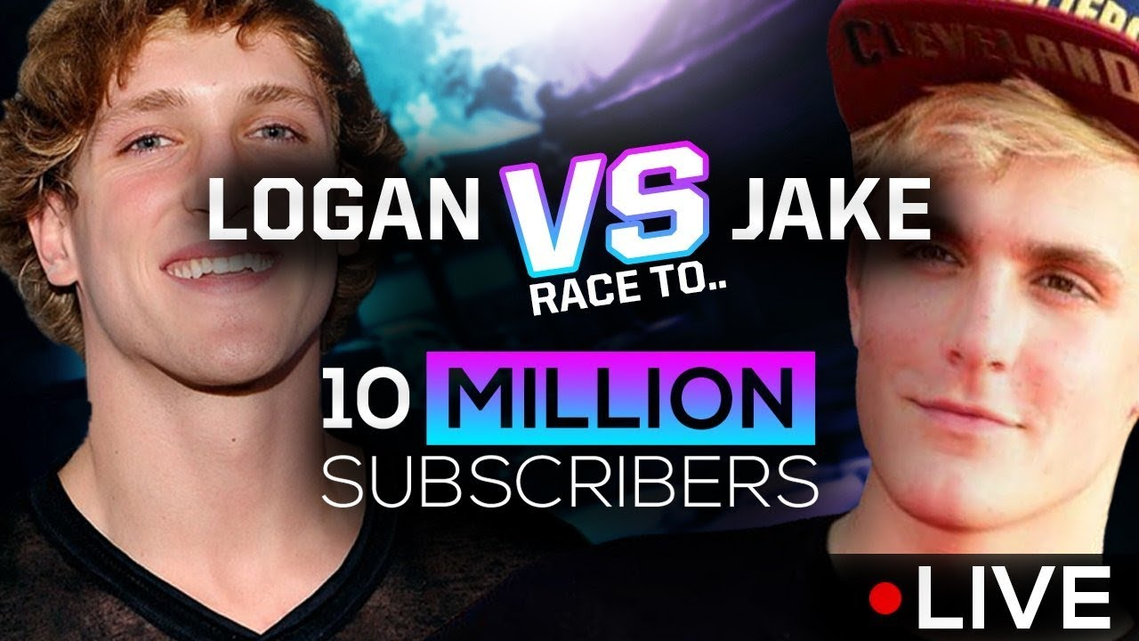 LOGAN VS JAKE 10 MIL SUB COUNTDOWN (ft.) 2nd Verse Logan Paul, Jake Paul,Erika Costell Tessa Brooks