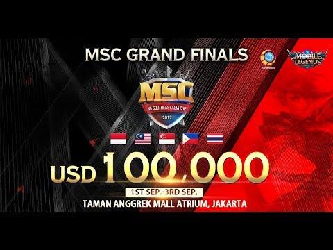 MSC Grand Final Day 2! #MSC2017