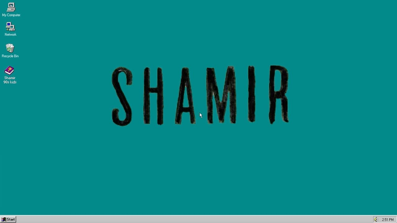 Shamir — 90's Kids (Official Music Video)