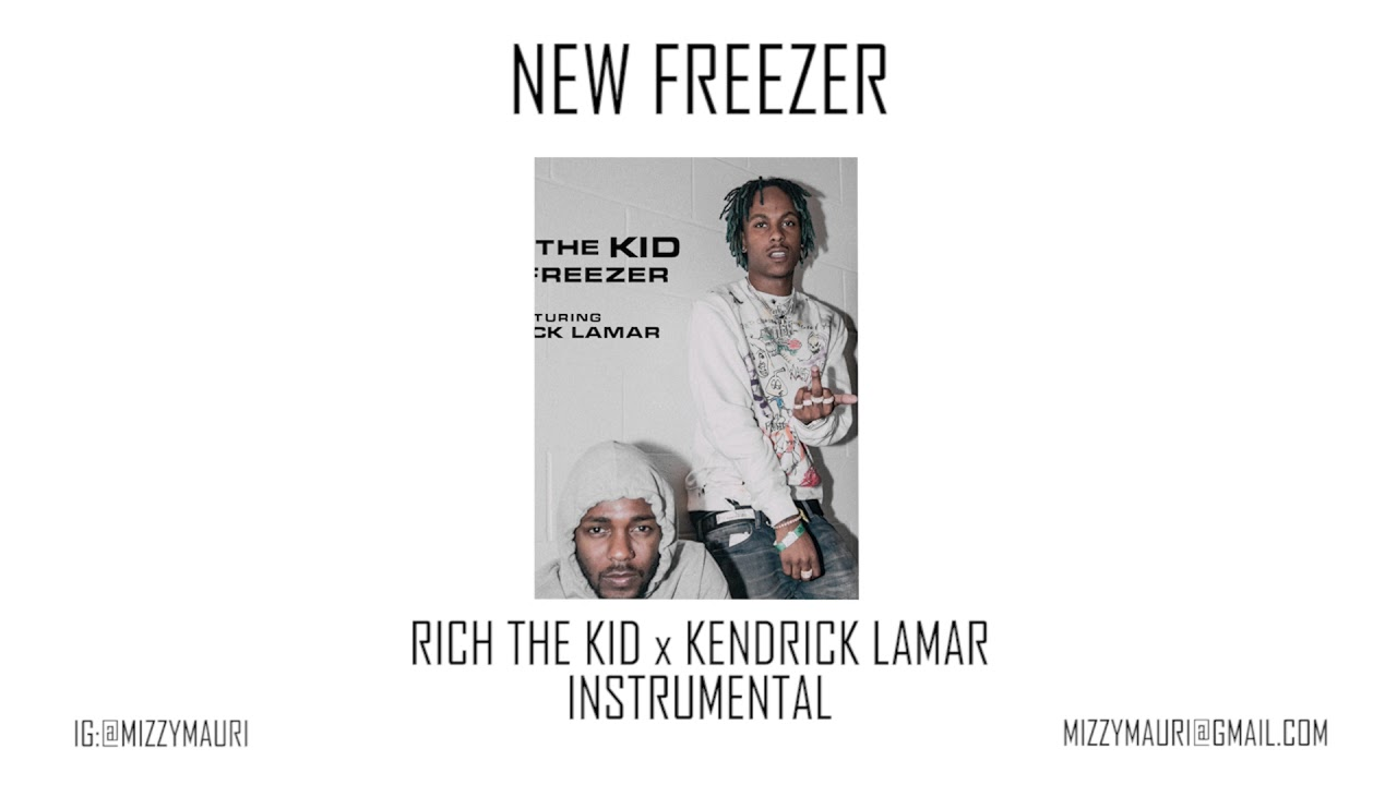 Rich the Kid ft. Kendrick Lamar — New Freezer (INSTRUMENTAL)