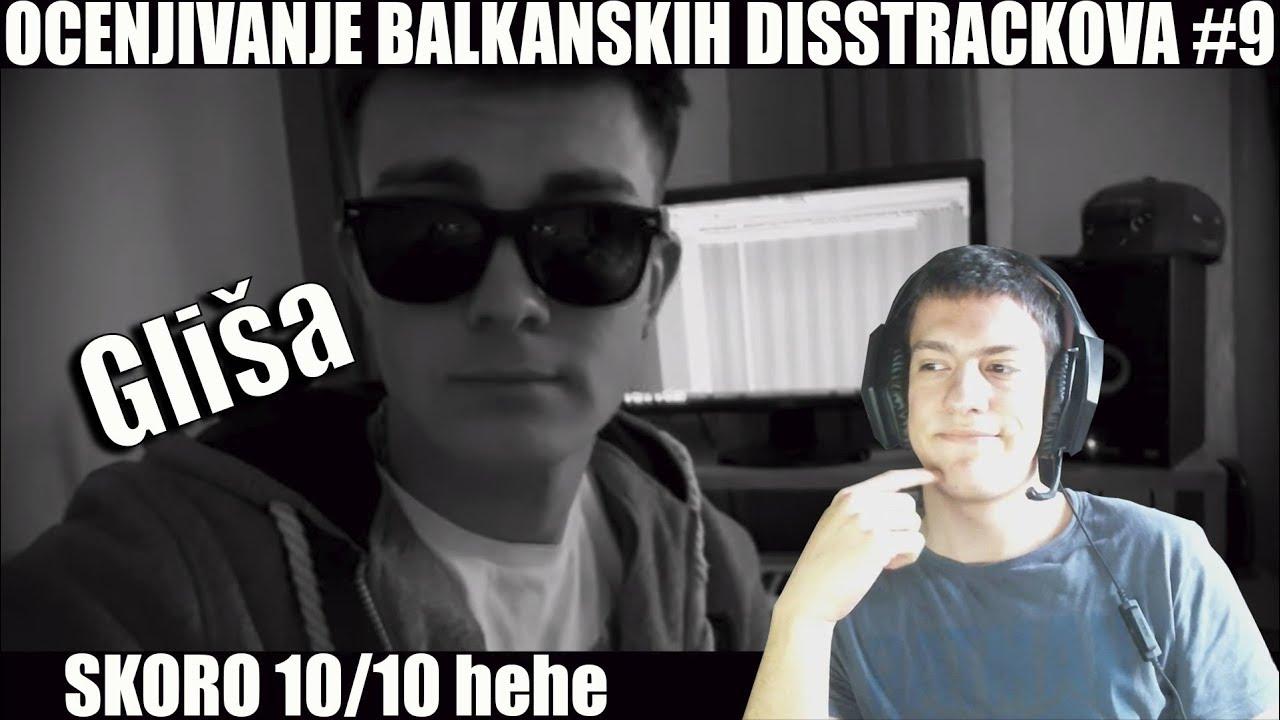 OCENJIVANJE BALKANSKIH DISSTRACKOVA — Gliša Disstrack «Afro Trap» (Official Video)