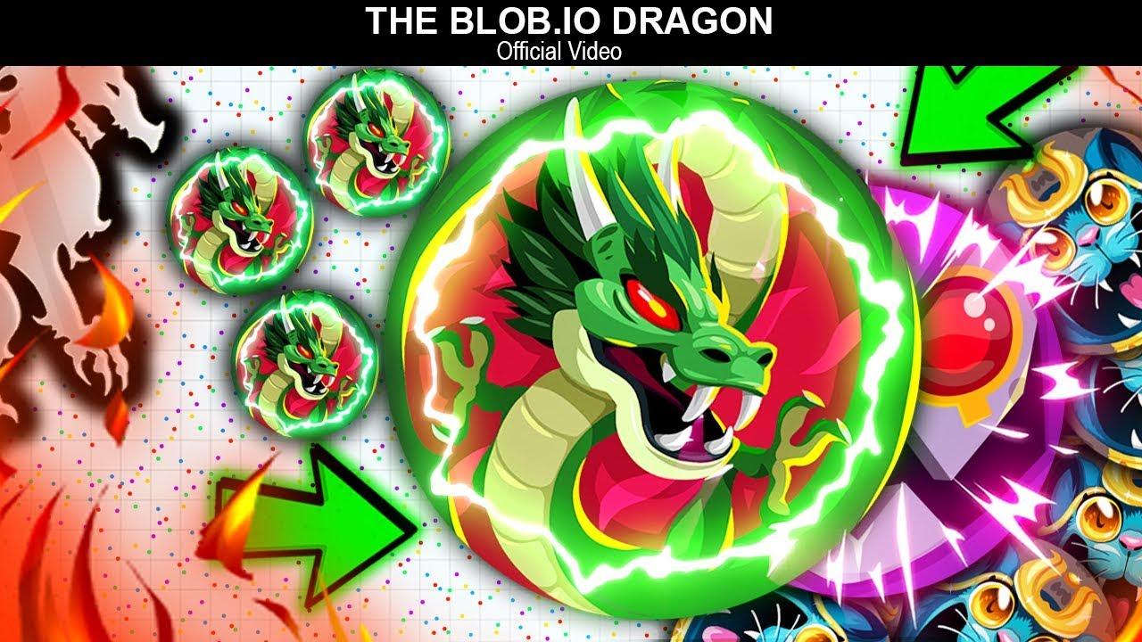 THE BLOB.IO DRAGON 🐉 — (Official Video) & POPSPLIT,DOUBLESPLIT HACKED In Blob.io Mobile