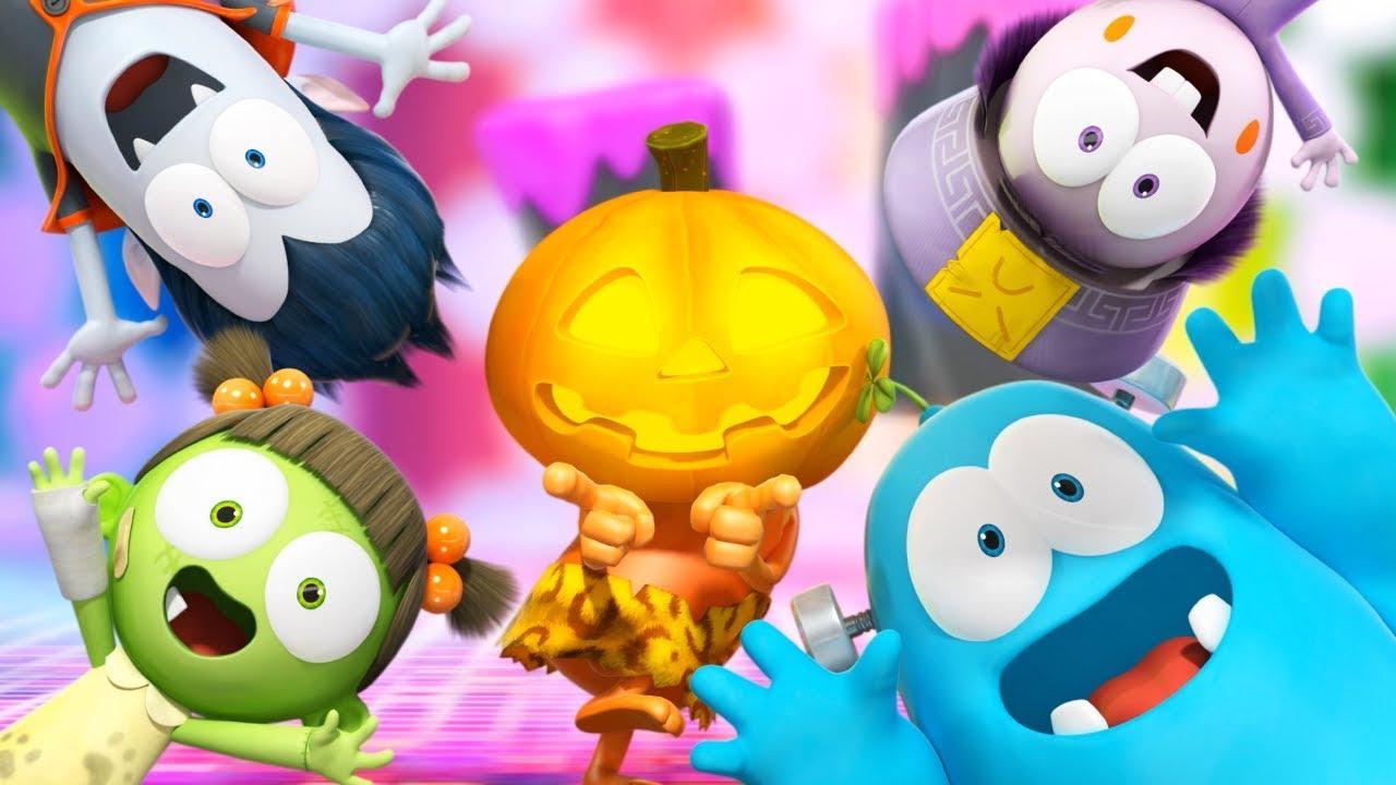 Funny Cartoon   Spookiz Happy Halloween Songs Official Music Video 스푸키즈 Cartoon For Children