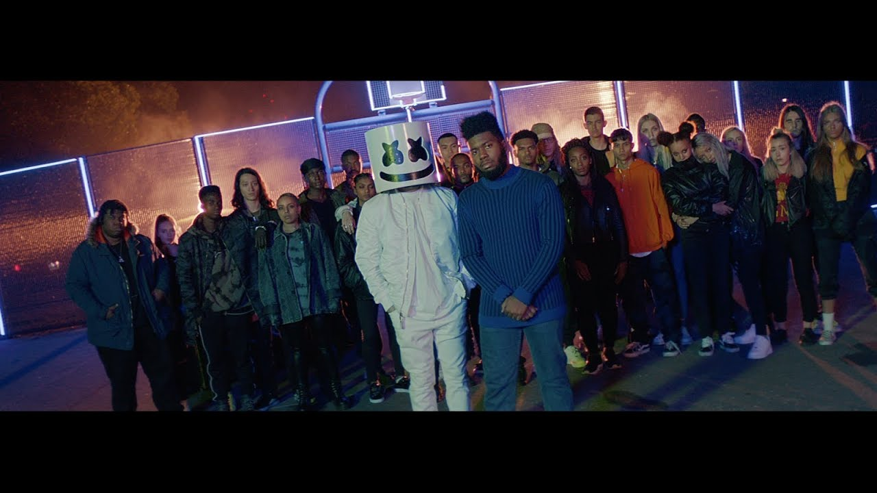Marshmello — Silence Ft. Khalid (Official Music Video)