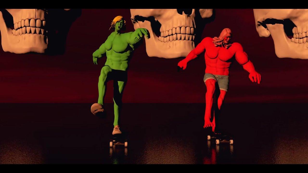 DZ Deathrays — Total Meltdown (Official Video)