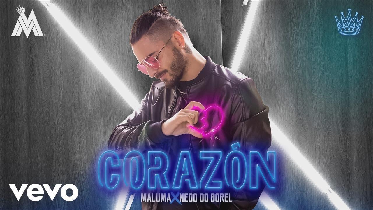 Maluma — Corazón (Audio) ft. Nego do Borel