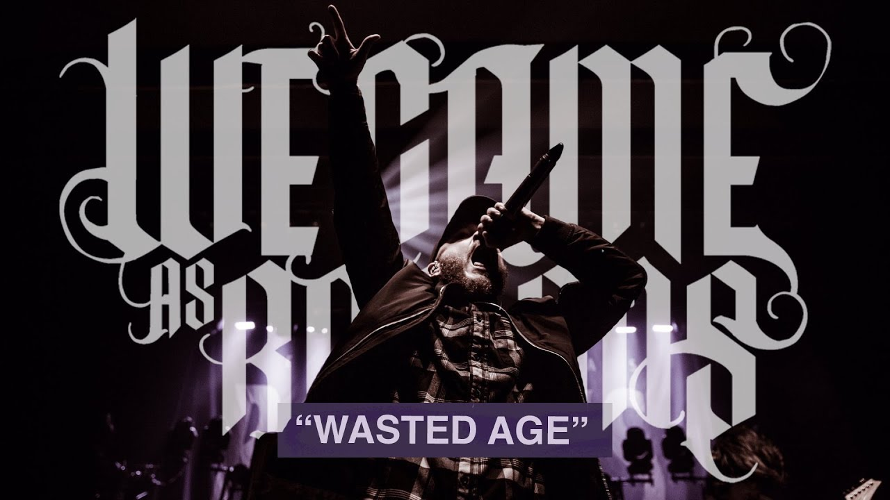 We Came As Romans — Wasted Age Live (OFFICIAL VIDEO)