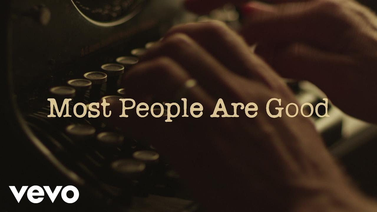 Luke Bryan — Most People Are Good (Lyric Video)